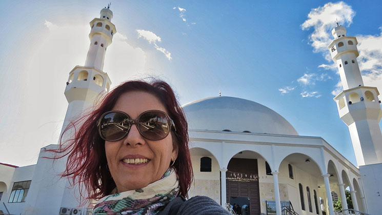 Mesquita Omar Ibn Al-Khattab Denise Tonin Viajante Solo