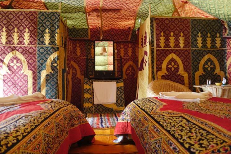 Onde se hospedar no Marrocos Auberge Cafe du Sud Acampamento