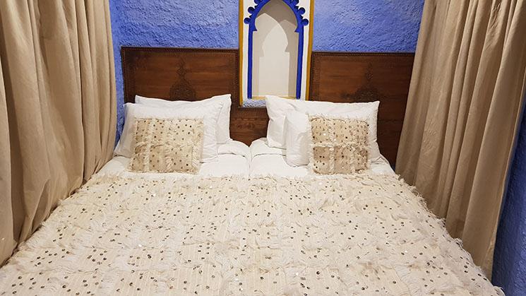 Onde se hospedar no Marrocos Casa Hassan Chefchaouen