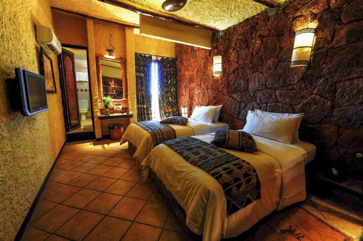 Onde se hospedar no Marrocos Dades Xaluca