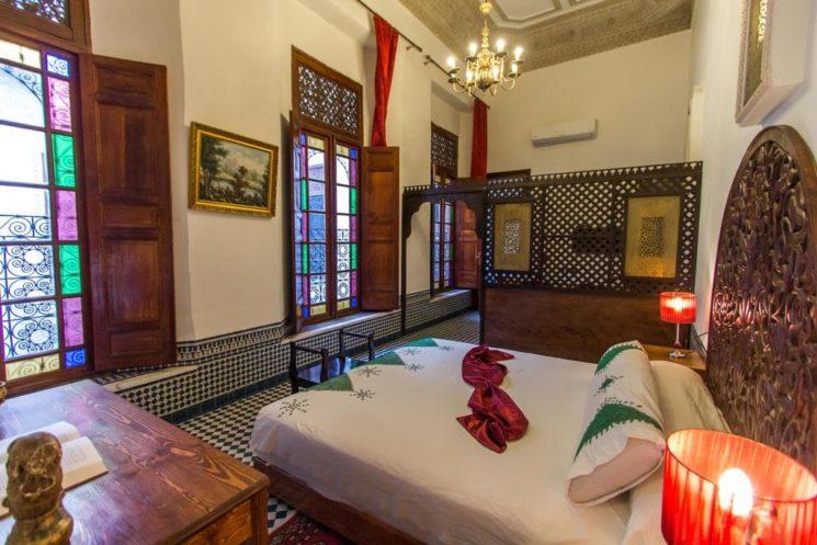 Onde se hospedar no Marrocos Fez Riad Al Makan