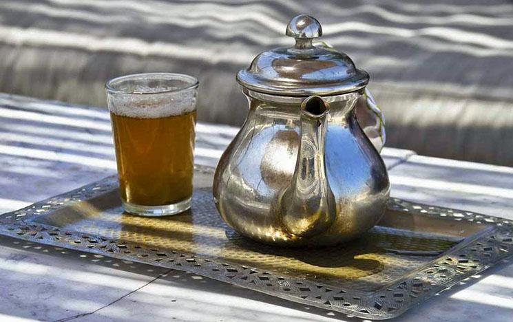 Viajar para o Marrocos Chá de Menta