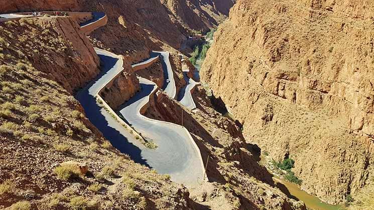 Viajar para o Marrocos Gargantas de Dades