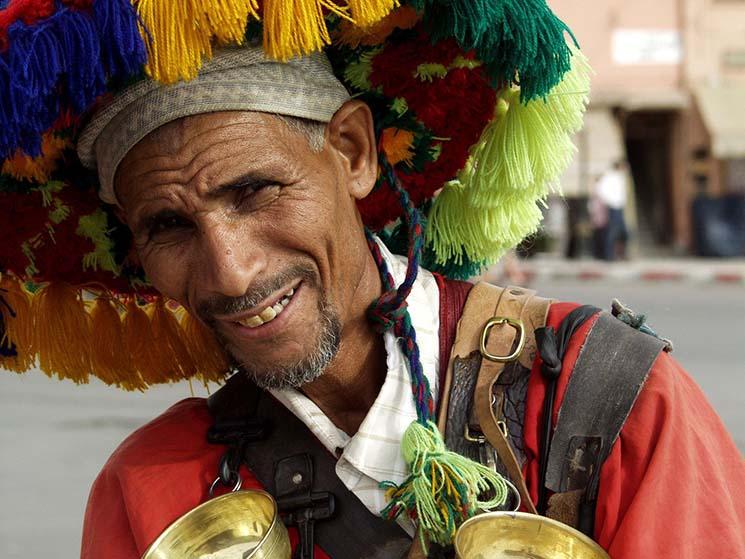 Viajar para o Marrocos Vendedor de Água