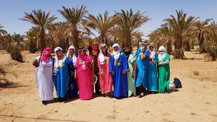 Roteiro no Marrocos Familia Berbere