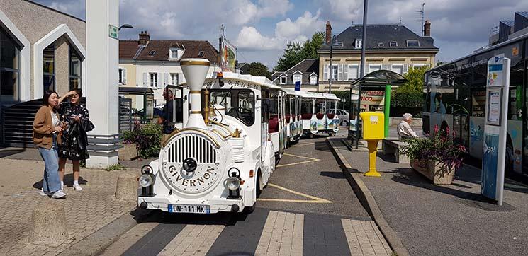 Como chegar aos Jardins de Monet por conta própria Le Petit Trains Givernon