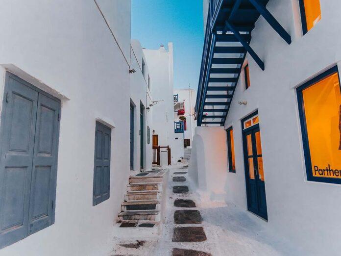 O que fazer em Mykonos alem praias Chora Mykonos Town