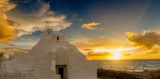 O que fazer em Mykonos alem praias Panagia Paraportiani