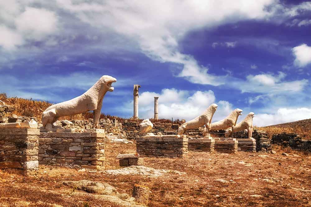 O que fazer em Mykonos alem praias ilha de Delos