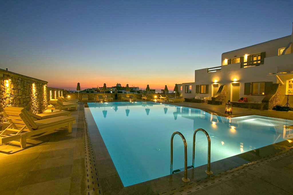 Viajar Sozinha para Mykonos Anna Maria Hotel