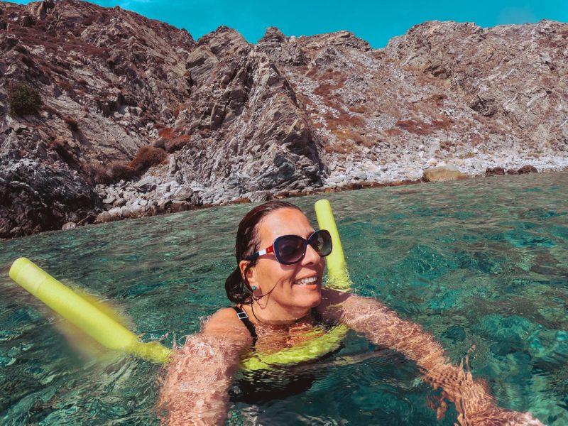 Viajar Sozinha para a Grecia Denise Tonin Mykonos Viajante Solo