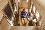Viagem Plus Size Emirates-B777 Suite Primeira Classe