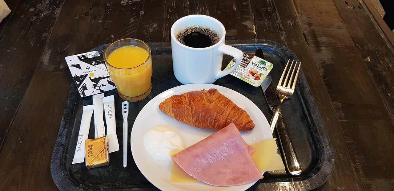 Generator Hostel Café da Manhã