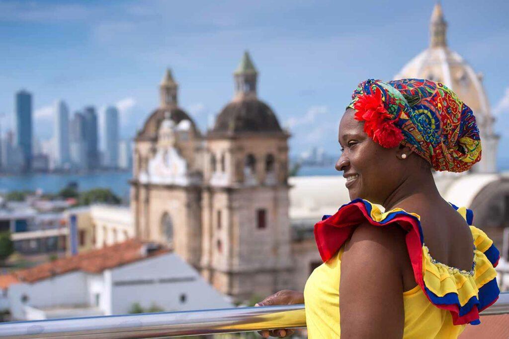 Países para viajar sozinha e sem passaporte: Cartagena, Colômbia