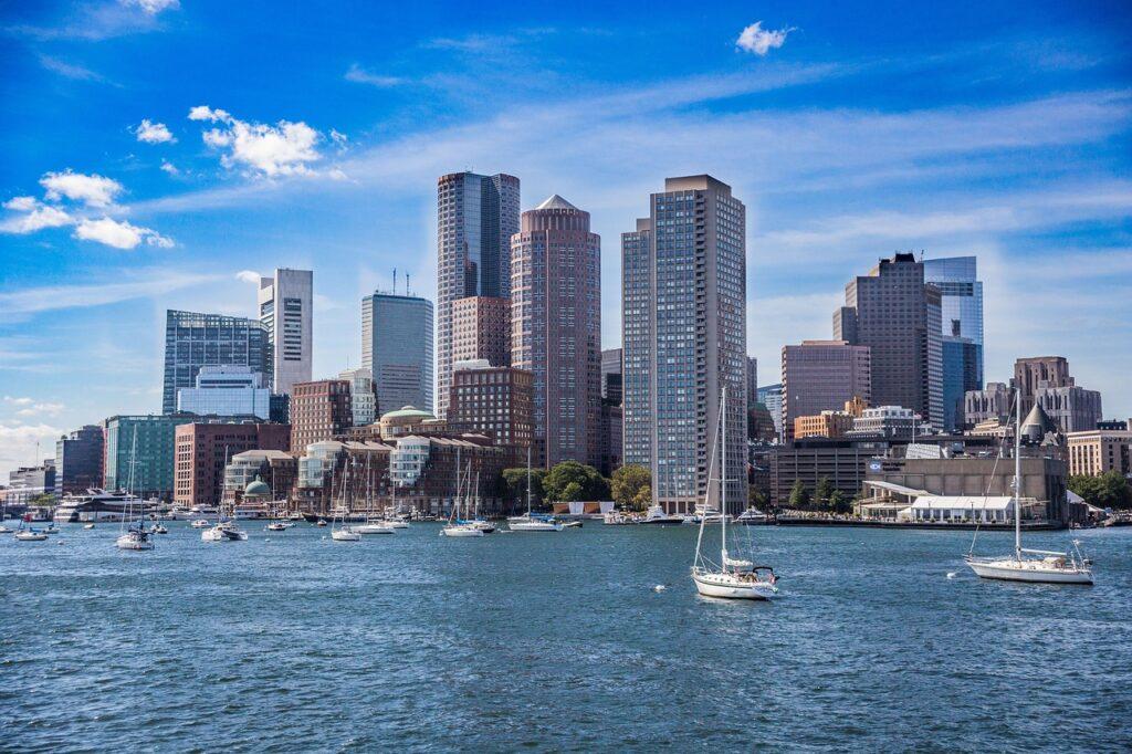 Sozinha nos Estados Unidos: Boston