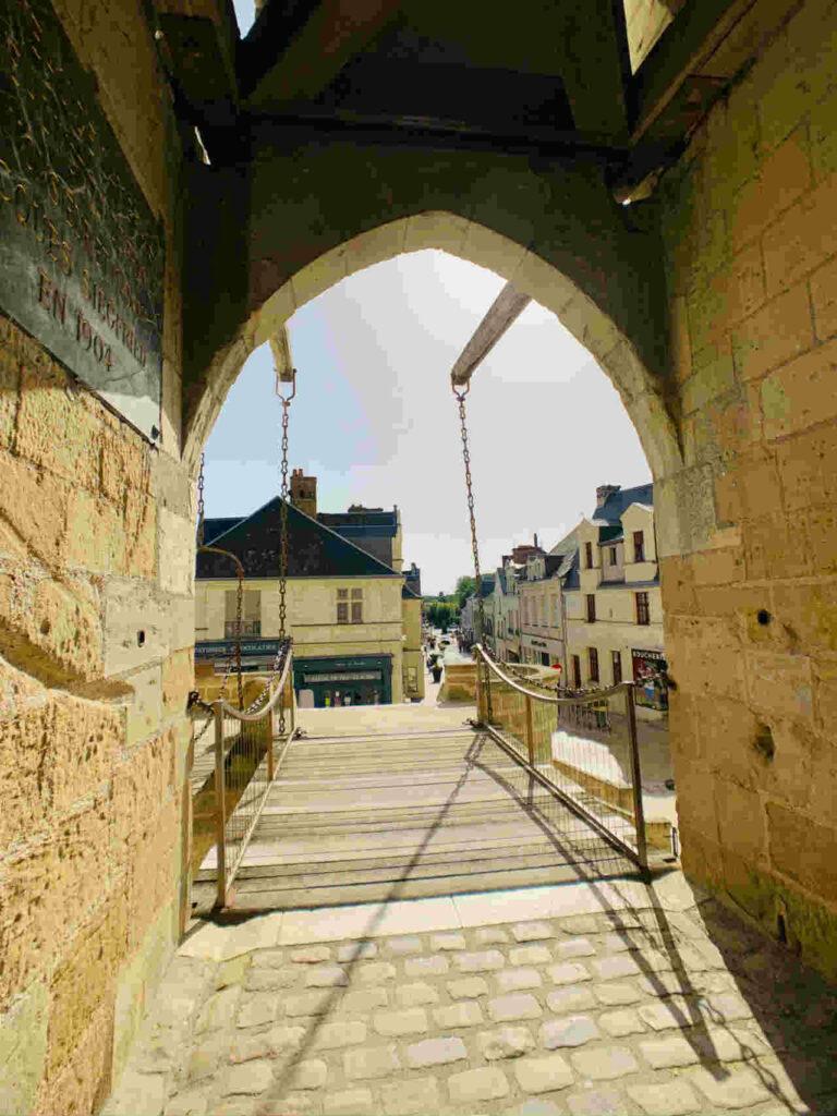 Castelo Langeais Vale do Loire Ponte Levadica