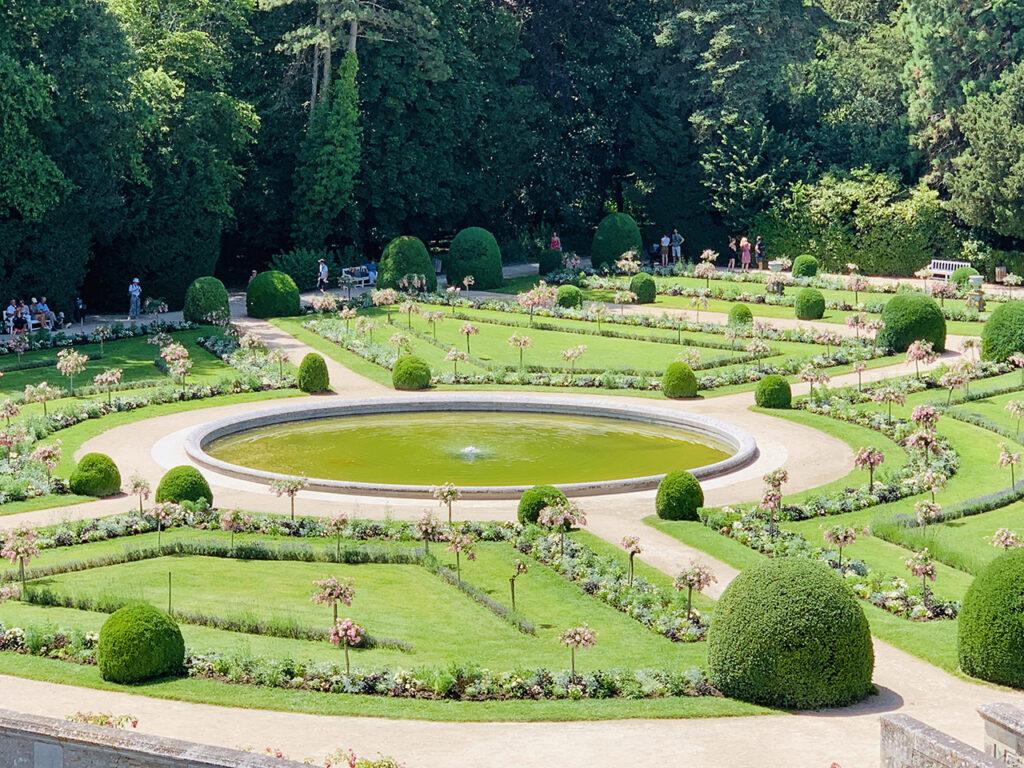 Jardins do Castelo de Chenonceau Vale do Loire