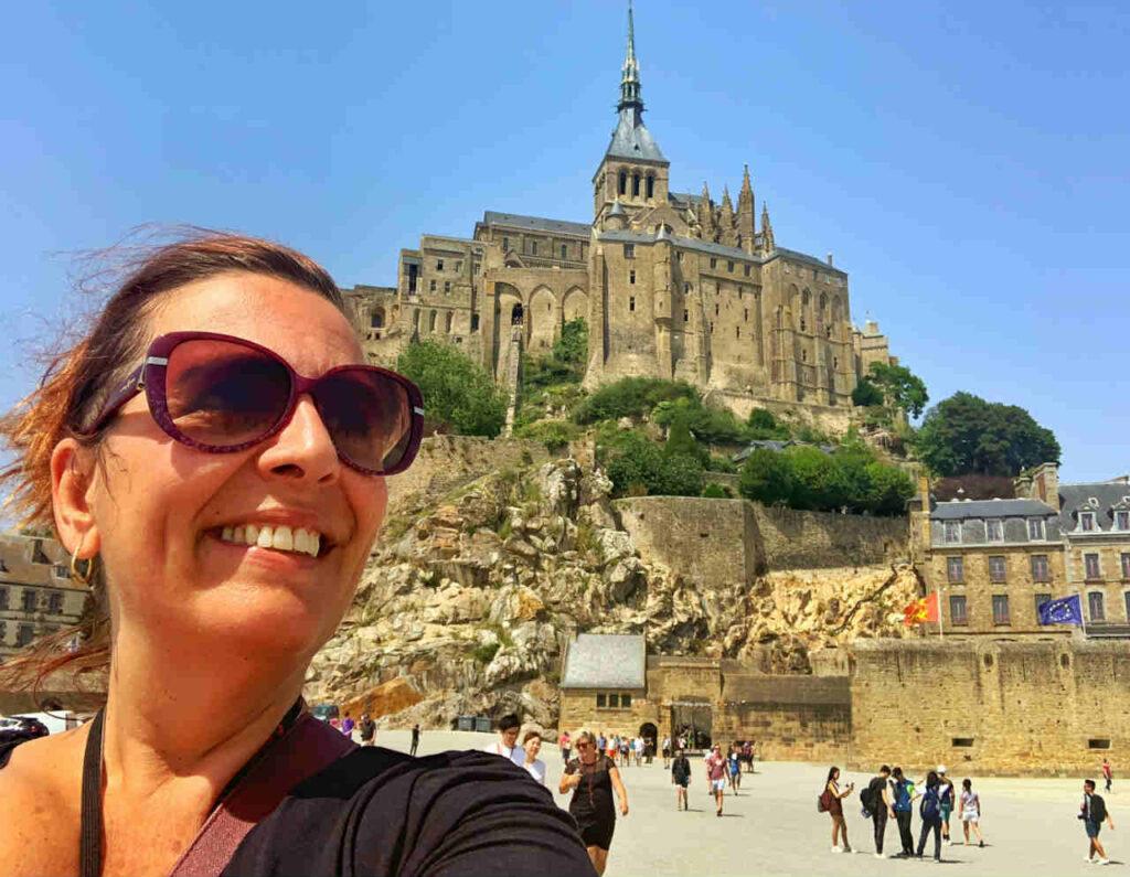 Passeio ao Mont Saint Michel Denise Tonin