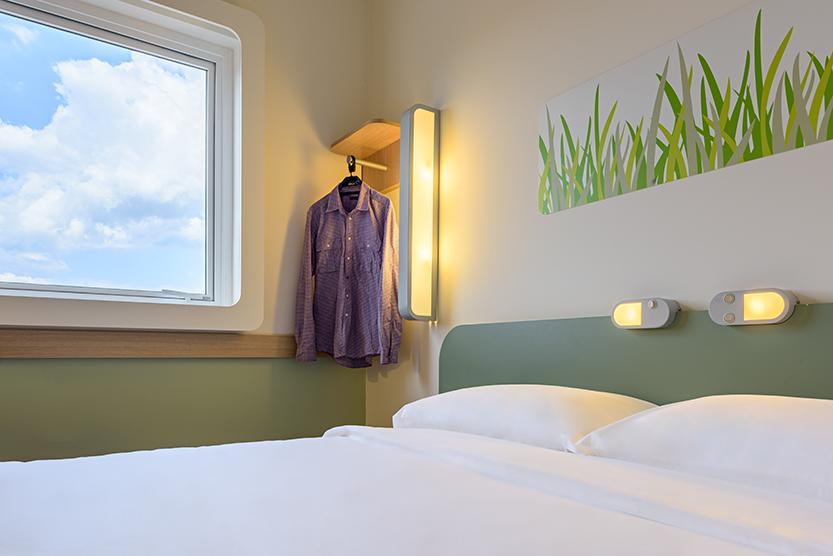 Hotel Econômico em Blumenau Quarto
