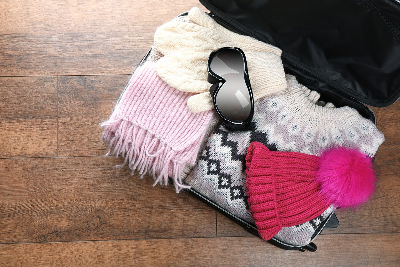 O que levar na mala de inverno