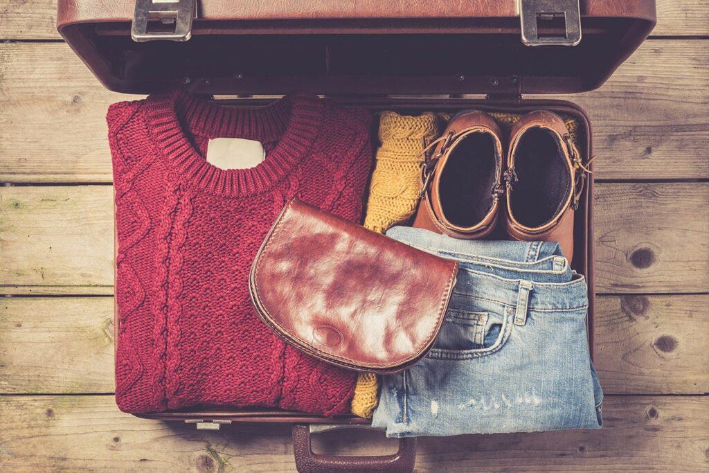 O que levar na mala de outono