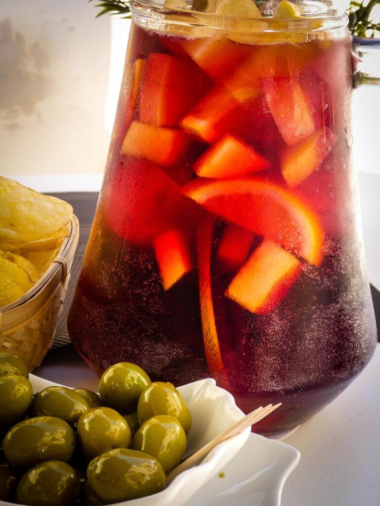 O que comer em Sevilha: Sangria