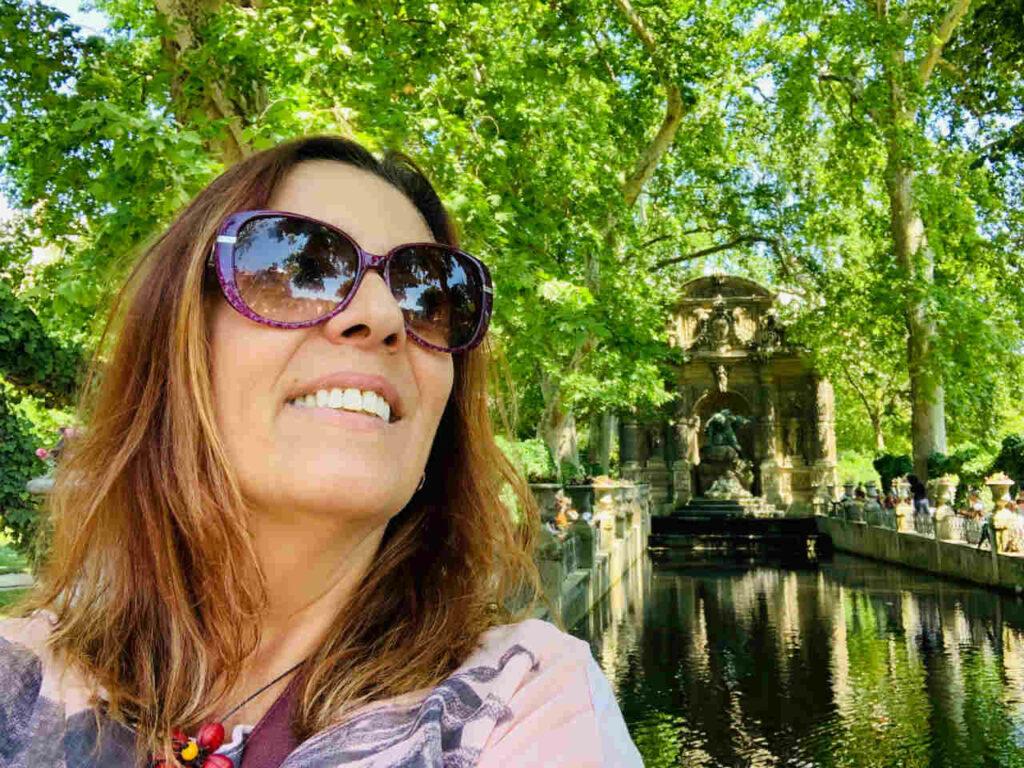 Viajar Sozinha para Paris - Jardins de Luxemburgo