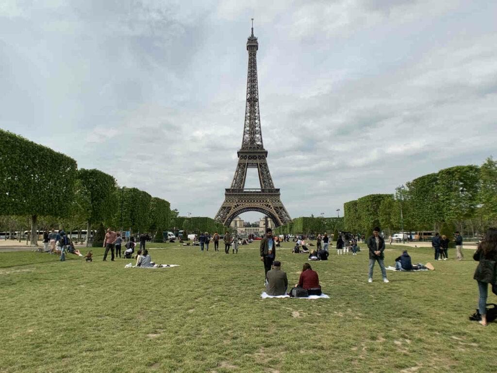 Viajar Sozinha para Paris - Jardins do Trocadero