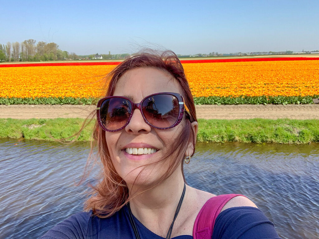 Viajar Sozinha para a Holanda Lisse Parque Keukenhof