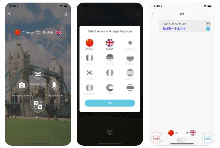 aplicativos de tradução para sua viagem sozinha Take Easy
