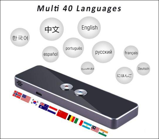 Como viajar sozinha sem falar outro idioma  - Tradutor de Voz Inteligente + de 40 idiomas