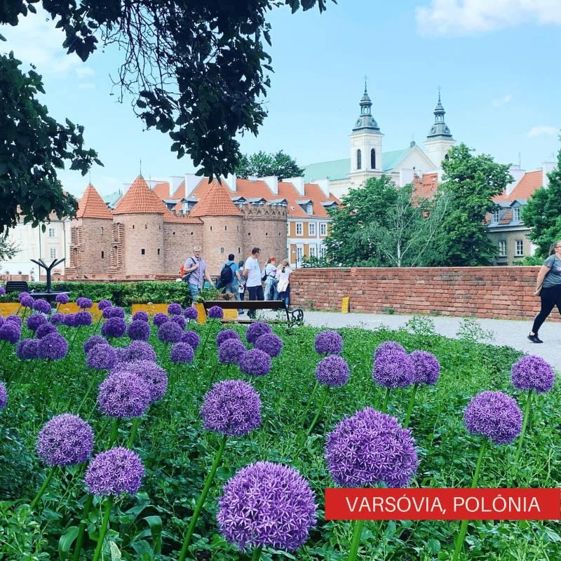 Viajando Sozinha pelo Leste Europeu Varsóvia, Polônia
