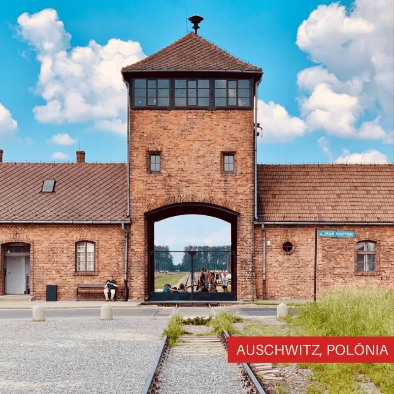 Viajando Sozinha pelo Leste Europeu Auschwitz, Polônia