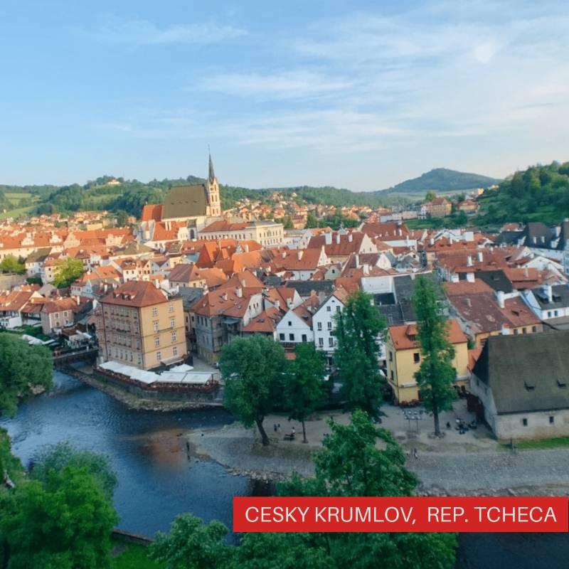 Viajando Sozinha pelo Leste Europeu Cesky Krumlov, República Tcheca