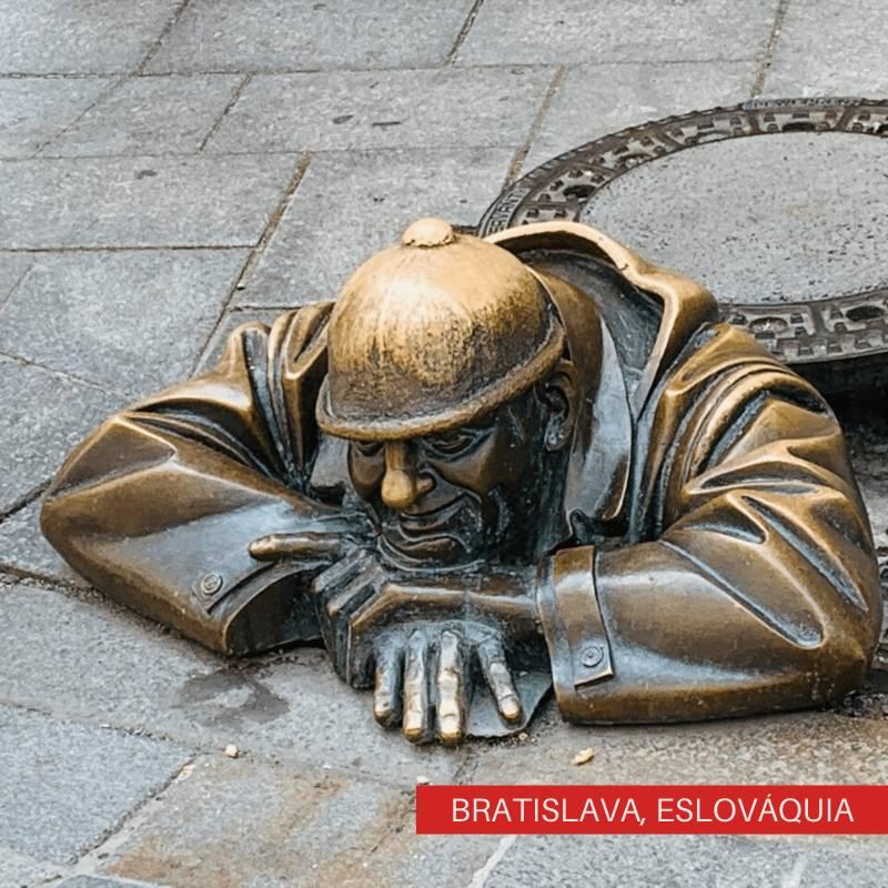 Viajando Sozinha pelo Leste Europeu Bratislava, Eslováquia