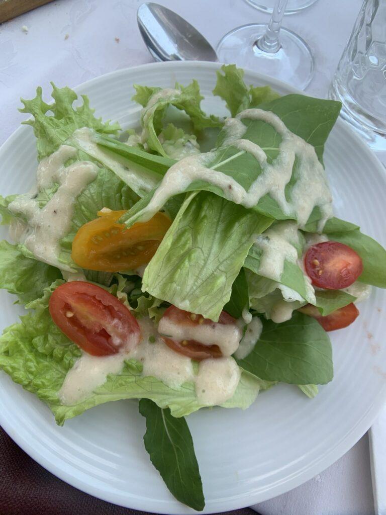 Almoço harmonizado na Cristofoli Salada