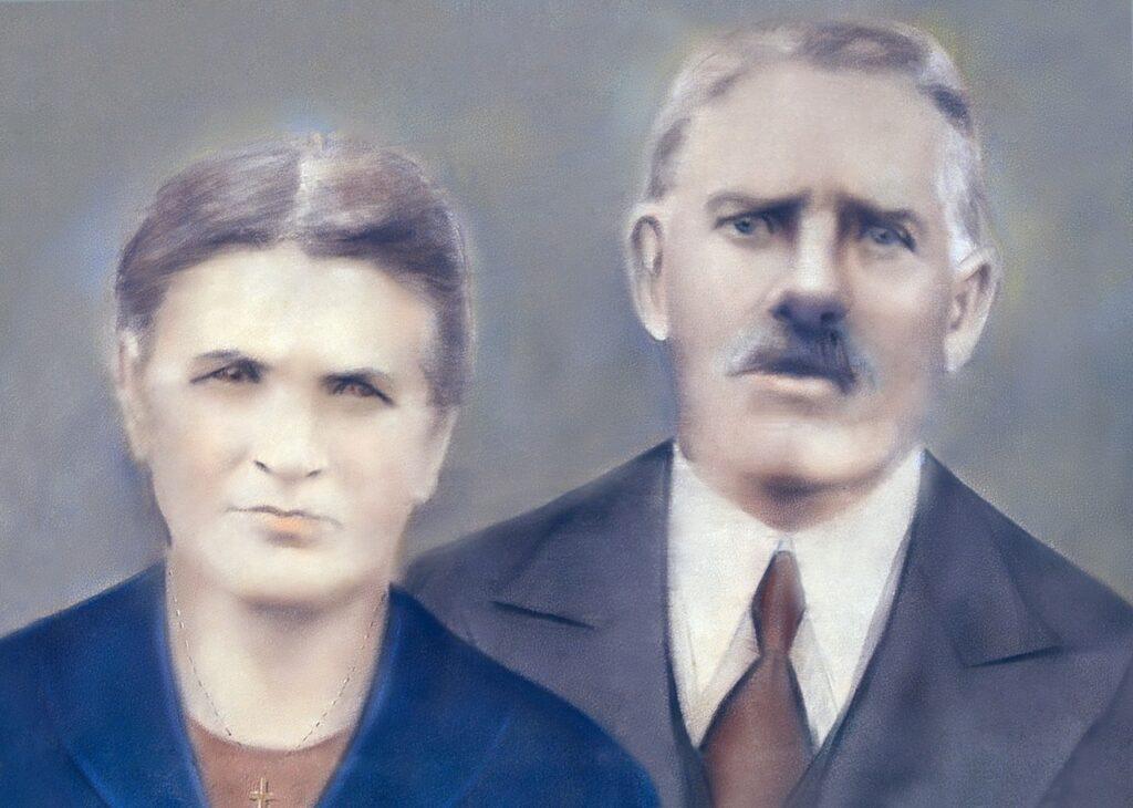 Angelo Cristofoli e Maria della Senta