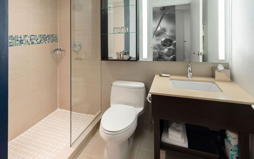 Hayden Hotel em Nova Iorque Banheiro