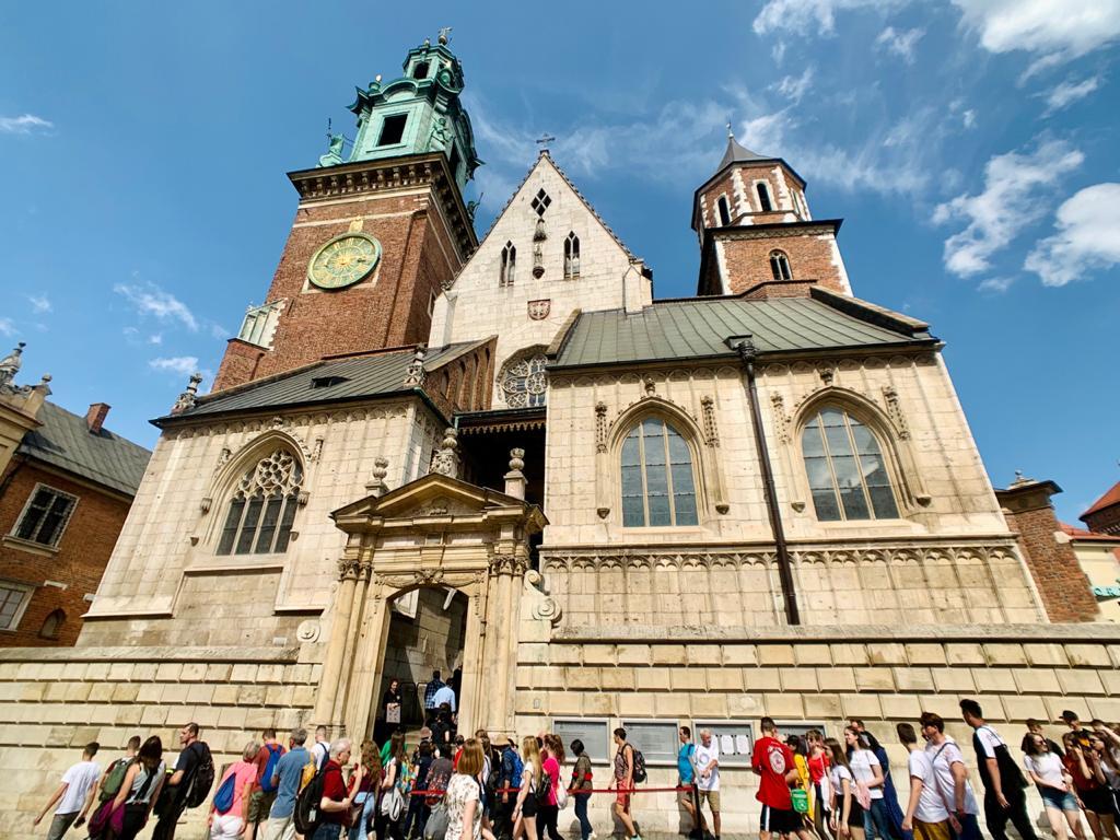 Catedral de Wawel em Cracóvia