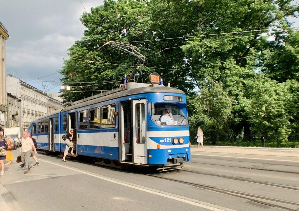 Como se locomover em Cracóvia