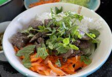 Bo Bun Receita Salada Vietnamita