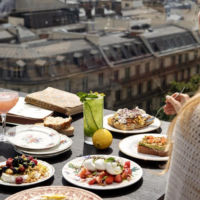 Cratures Restaurante Galeries Lafayette