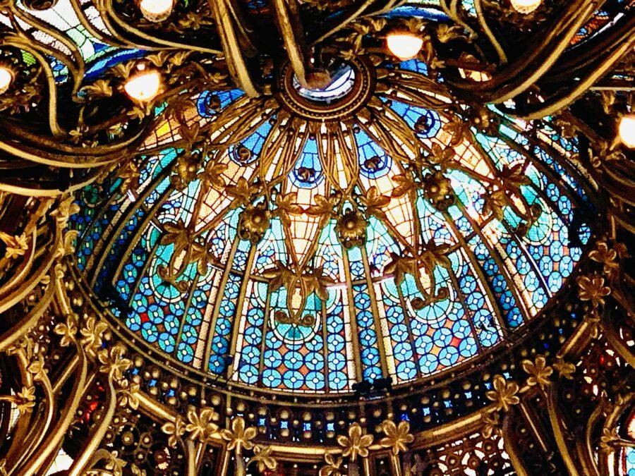 Galeries Lafayette Paris Cúpula