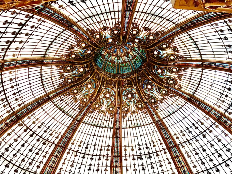 Galeries Lafayette Cúpula