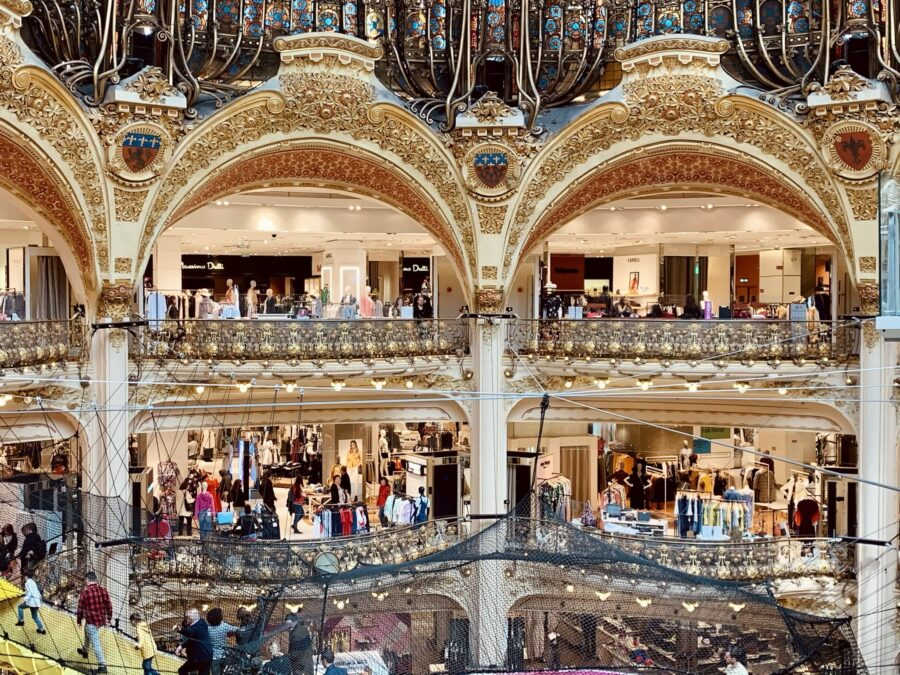 Galeries Lafayette Varandas