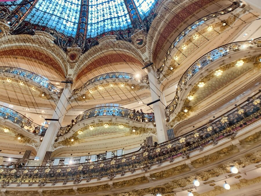 Galerias Lafayette Paris Haussmann - Varanda