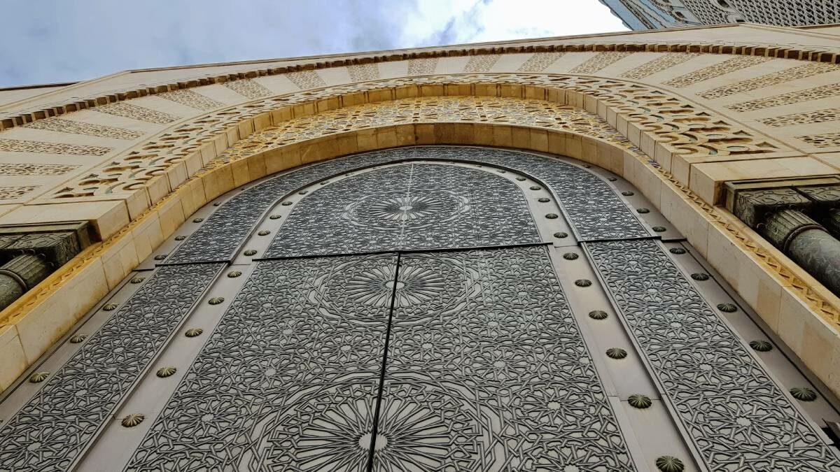 Mesquita Hassan II Porta