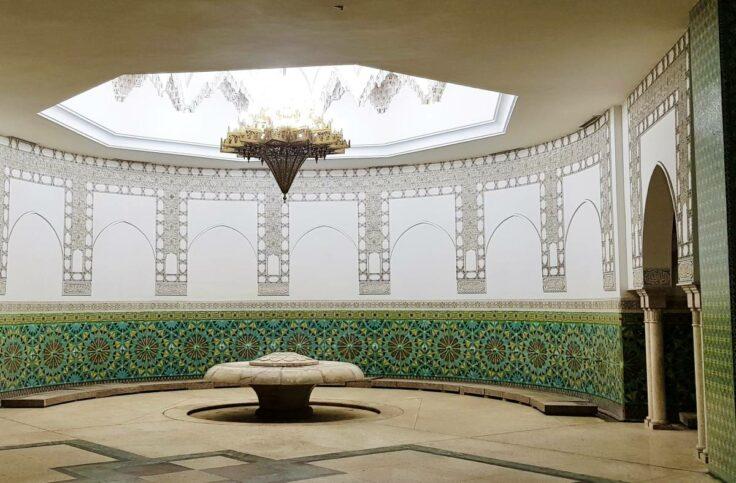 Mesquita Hassan II Sala Ablução