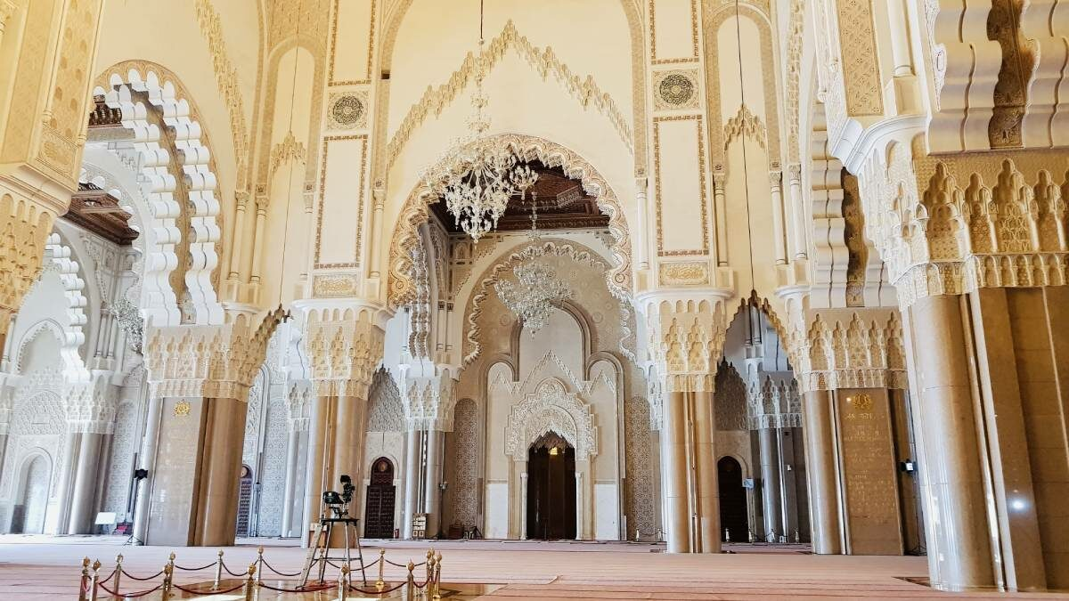 Mesquita Hassan II Sala Orações