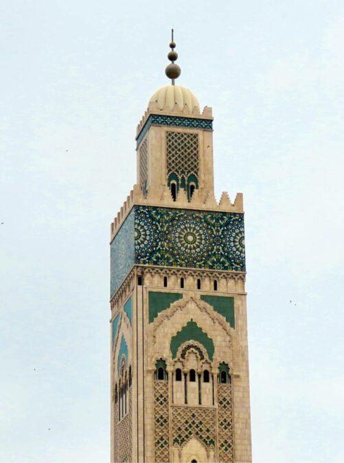Mesquita Hassan II Minarete